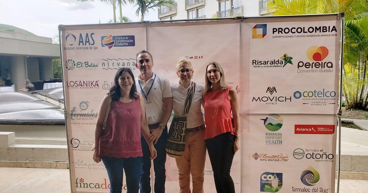 Participación Congreso Internacional de Profesionales de Spa y Bienestar
